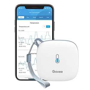 [Prime] Govee Thermometer & Hygrometer (WLAN, Bluetooth, App, Fernüberwachung, Benachrichtigungen, 20 Tage Cloud, 2 Jahre Export)