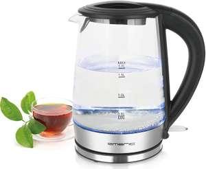 Emerio Glas-Wasserkocher WK-123132.1 mit 1,7 Liter für 9,99 Euro [Poco]