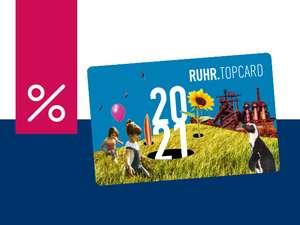 Ruhr.Topcard zum Kinderpreis für alle bis zum 15.8. (statt 56€) - einmalig freier Eintritt für über 90 Atraktionen - ruhrtopcard