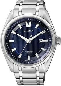 Citizen Herrenuhr Eco-Drive AW1240-57L Solar Titan Saphir 42mm blau (schwarz 151,73€)
