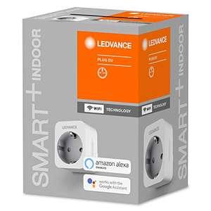 LEDVANCE Smart+ Schaltbare Steckdose WiFi Version, mit Strommessung, Kompatibel mit Google and Alexa