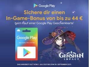 [Genshin Impact] Google Play Guthaben kaufen > In-Game Bonus erhalten