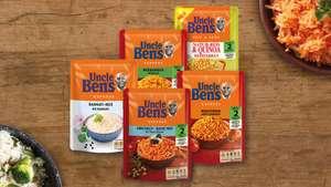 6x220/250g Uncle Ben's Express-Reis 15 verschiedene Sorten, bis zu 0,99€ pro Packung - Prime*Sparabo*