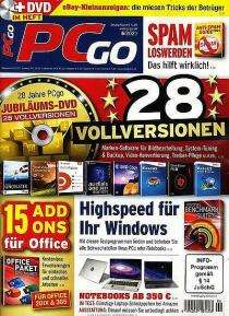 PCgo Classic inkl. DVD Abo (12 Ausgaben) für 64,60 € mit 45 € BestChoice-Gutschein | 40 € BC inkl. Amazon (Kein Werber nötig)