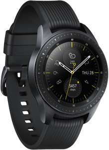 """Samsung Galaxy Watch R810 42mm (1.2"""", 360x360, OLED, Touch, Exynos 9110, 768MB/4GB, ~4d Akku, HR-Sensor, GPS, WLAN, BT, NFC, Samsung Pay)"""