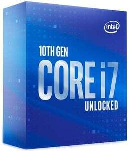 Intel Core i7-10700K Prozessor (8 Kerne, 16 Threads, Sockel 1200, 3,8 GHz/ Turbotakt 5,1 GHz, Comet Lake-S, Intel UHD 630, 16MB Cache) Boxed