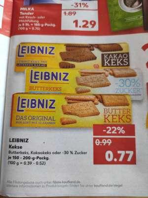 Leibniz verschiedene Sorten Butterkeks, je Packung [Kaufland offline bundesweit?]