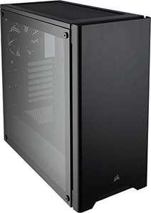 Corsair Carbide 275R mit TG Sichtfenster Echtglas Midi Tower ohne Netzteil schwarz PC Gehäuse
