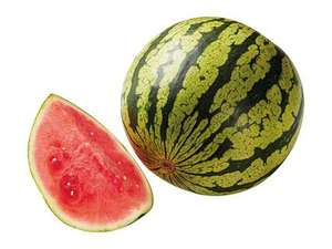 Lidl Filiale: Kilo-Preis gesenkt, Wassermelone aus Spanien/ kernarm , Kilopreis : 49Cent