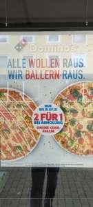 [Koblenz] Dominos 2 Pizzen zum Preis von 1 nur bei online Bestellung und Abholung