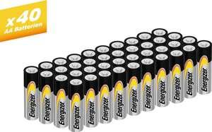 [Otto mit Lieferflat] Energizer »Alkaline Power Mignon (AA) 40 Stück« Batterie für 5,99€