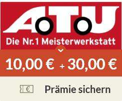 [spartanien ] A.T.U. - kostenlose Bonuscard + 3.000 Bonuspunkte | 10€ auf's Prämienkonto