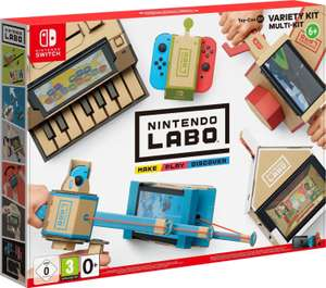 Nintendo Labo Toy-Con 01 - Multi-Kit & Nintendo Labo Toy-Con 03 - Fahrzeug-Set für je 18,99€ inkl. Versand (Expert)
