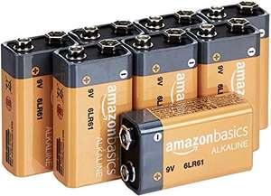 [PRIME] Amazon Basics 8x 9V Batterie Block 6LR61