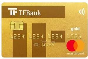 [CHECK24] TF Bank Mastercard Gold mit 75€ + 4€ Bonus   mit Reiseversicherungen · dauerhaft kostenlos · weltweit gebührenfrei bezahlen