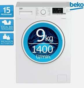 Beko WML91433NP1 9kg A+++/B Waschmaschine (1400 U/min, 15 Programme, Mengenautomatik, Kindersicherung)