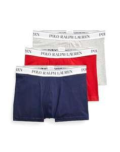 POLO RALPH LAUREN CLASSIC STRETCH-COTTON TRUNK 3-PACK Boxershorts