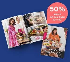 Tchibo online: 50% Nachlass auf Soft-Fotobücher Klassik