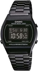 Casio Collection B640WB-1BEF Retro Armbanduhr mit Edelstahlarmband [Prime]