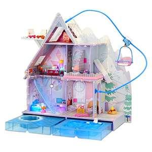 [amazon.de] L.O.L. Surprise OMG Winter Chill Cabin Puppenhaus aus Holz Prime Versand frei