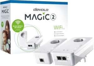 devolo Magic 2 WiFi Starter Kit (Magic 2 LAN + Magic 2 WiFi Adapter mit 2x Gigabit-LAN & Dualband-WLAN)
