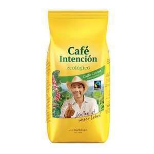 [Citti-Märkte] J.J. Darboven Café Intención ecológico Bio Caffè Crema Bohnen (1kg) mit der Citti Card für 9,99€