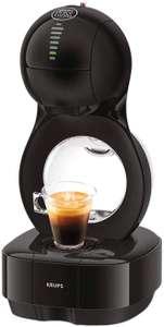 Krups Nescafé Dolce Gusto Lumio Kapselmaschine KP1308   Kompakte Kaffeemaschine   1 L Wassertank   15 Bar Druck   Schwarz [Amazon]
