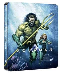 Aquaman Steelbook Illustrated Artwork (Blu-ray) Amazon Prime