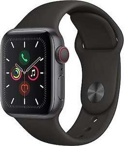 Apple Watch Series 5 GPS + LTE Cellular 40mm Aluminiumgehäuse spacegrau