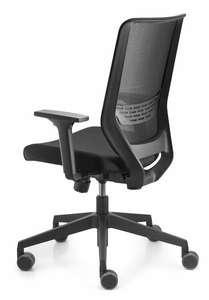 Ergonomischer Bürostuhl mit Armlehnen und Mesh-Rückenlehne Trendoffice to-sync work SC9242 (Dauphin) mit Gutschein für 195,11€
