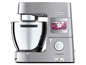 KENWOOD KCL95.424SI Cooking Chef XL Küchenmaschine (1500 Watt, Waage, Induktion, Touch-screen, umfangreiches Zubehör)