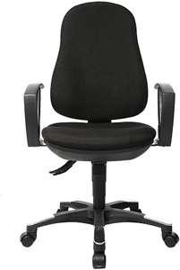 Topstar Trend SY 10 Bürostuhl ergonomisch mit Armlehnen Bezugsstoff schwarz 9020AG20 für 77,80€ inkl. Versandkosten