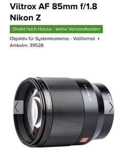 Viltrox AF 85mm f/1.8 Nikon Z