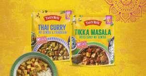[Hit] 3x Tasty Bite vegetarisches Curry mit Couponplatz Coupon für 2,97€ + Wok gratis