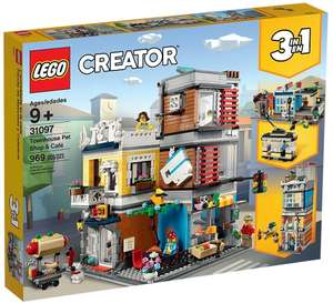 LEGO 31097 Creator Stadthaus mit Zoohandlung & Café