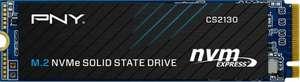 PNY CS2130 1TB M.2 NVMe Internal Solid State Drive (interne SSD, 3D NAND, 3.500 MB/s, 256bit AES-Verschlüsselung)