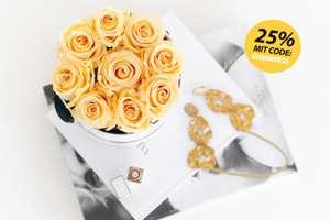 25% bei Grace Flower Box auf Kunstblumen/ -rosen