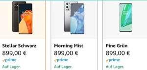OnePlus 9 Pro 256gb, 12gb Ram in versch. Farben + 2 Jahre Garantie über Amazon
