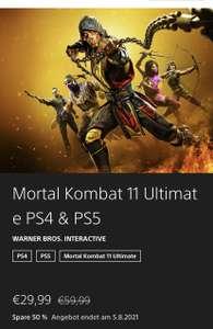 Playstation Store - Mortal Kombat 11 Ultimate ( Injustice 2 ) PS4 & PS5
