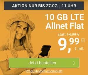 [WinSim] 10GB Allnet Flat für 9,99€ monatlich im Telefonica-Netz