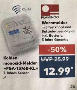 Kohlenmonoxid-Melder FGA-13760-KL Flamingo baugleich Smartwares RM 370 [Kaufland]