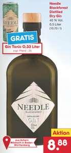 [NETTO MD] Needle Blackforest Destilled Dry Gin 40% (1 x 0,5l)
