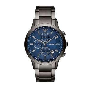 Emporio Armani Herren Chronograph Quarz Uhr mit Edelstahl Armband AR11215 für 103,95€ (Uhrenlogik)