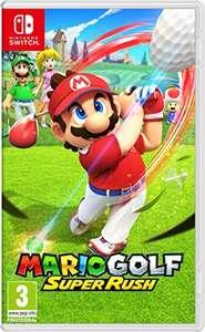 Mario Golf Super Rush / The Legend of Zelda Skyward Sword HD Nintendo Switch für App Erstbesteller nur 33,37€