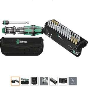 Wera Kraftform Kompakt 20 mit Tasche, 7-teilig & Bit-Sortiment, Bit-Check 30 Universal 1, 30-teilig,