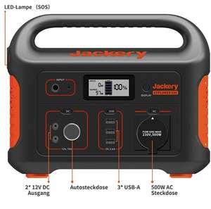 """Jackery Explorer 500 Powerstation 518 Wh """"Solargenerator"""""""