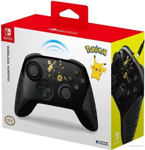 Hori Horipad Wireless - Pokémon: Pikachu Black & Gold (Xbox-Layout, Akku, Bluetooth, USB-C) [Nintendo Switch Controller]
