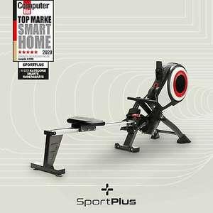 SportPlus Turbinen Rudermaschine Rudergerät Ruderzugmaschine klappbar bis 150 kg