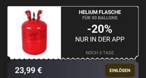 Mäc Geiz Helium für bis zu 50 Ballons