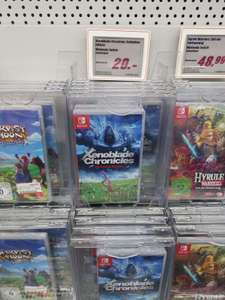[Lokal] Xenoblade Chronicles Definitive Edition / Pikmin 3 für Nintendo Switch / Berlin Linden Center Media Markt